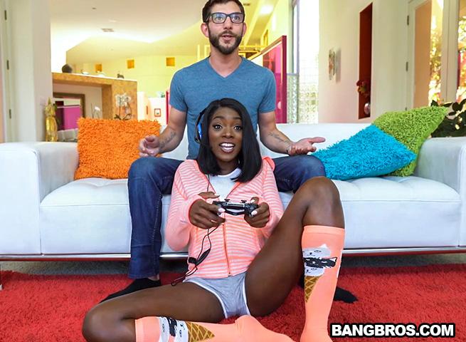 bangbros 2017-05-12 Ebony Gamer Gets a Good Fuck. 4